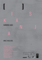 Barbara Kanc: Iskanja brez naslova / Searchings Untitled, letak / flyer